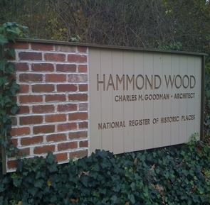 Hammond Wood sign