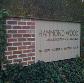 Hammond Wood sign