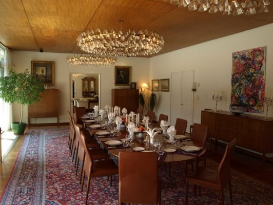 Danish Embassy Dining Room.