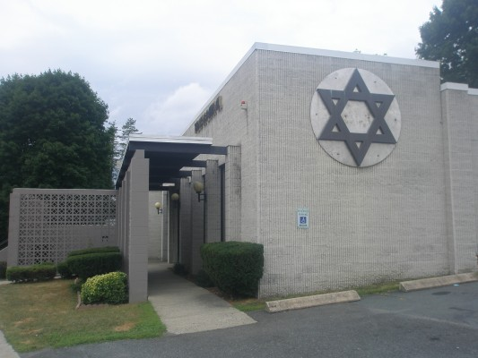 Mid-century modern synagogue in Troy, NY
