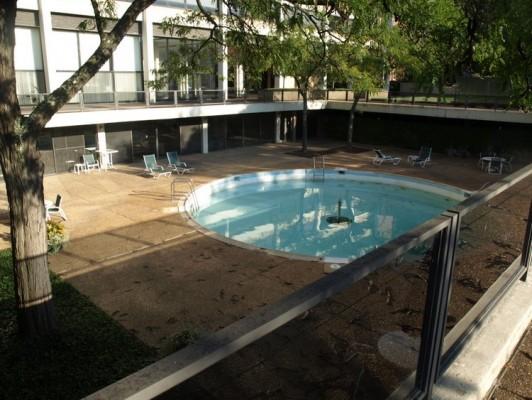 Highland House pool