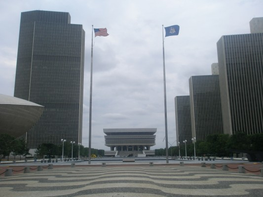 Empire State Plaza Overview