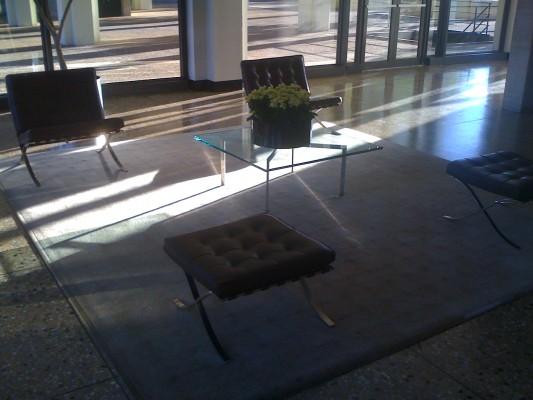 Highfield House lobby