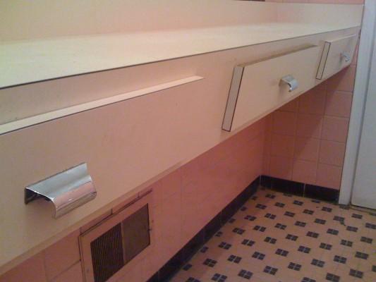 Vintage Pink Bathroom handles