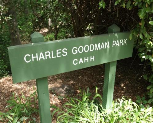 Goodman Park sign