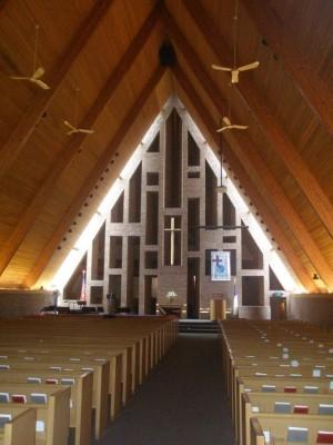 First Baptist Church sanctuary