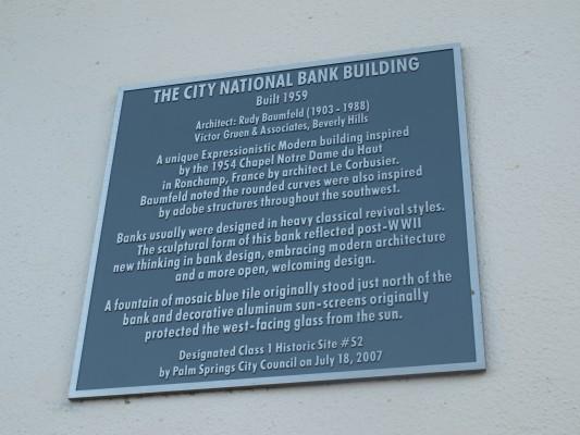 City National Banks Sign