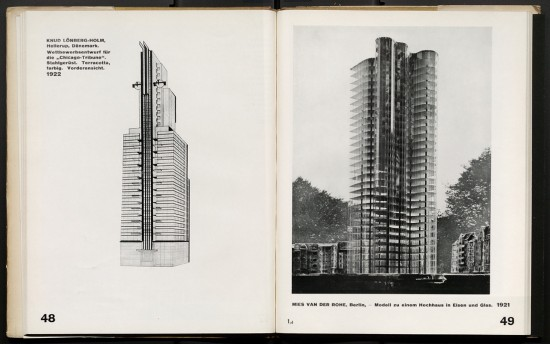 Bauhaus publication Internationale Architektur