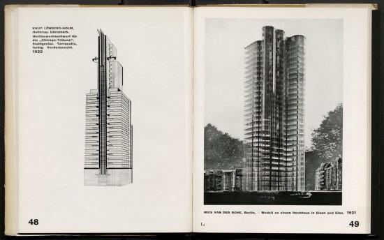 Bauhaus publication Internationale Architektur
