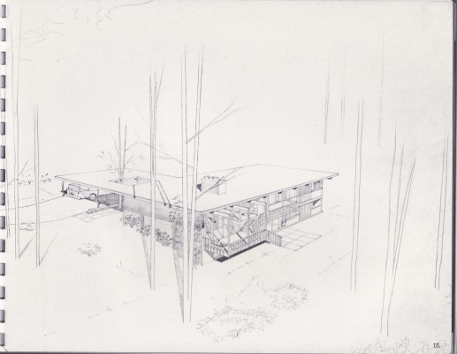 Esten Drawing - Stokes House