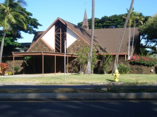 Church in Kahala.