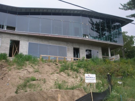 New modern home in Beverly Shores