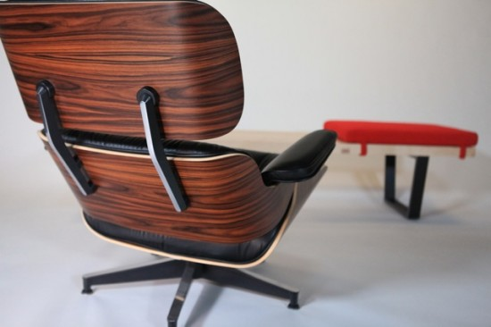 Eames Lounge Chair and Nelson bench