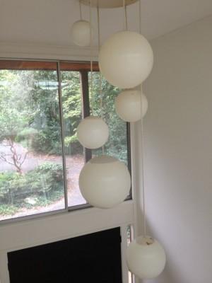 Globe light cluster
