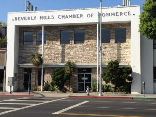 Former Beverly Hills Chamber of Commerce