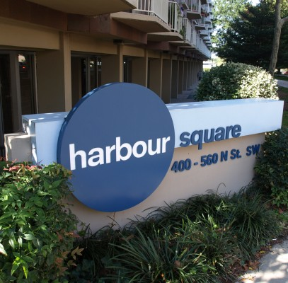 Harbour Square sign