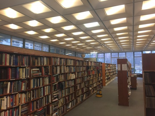SS Library interior