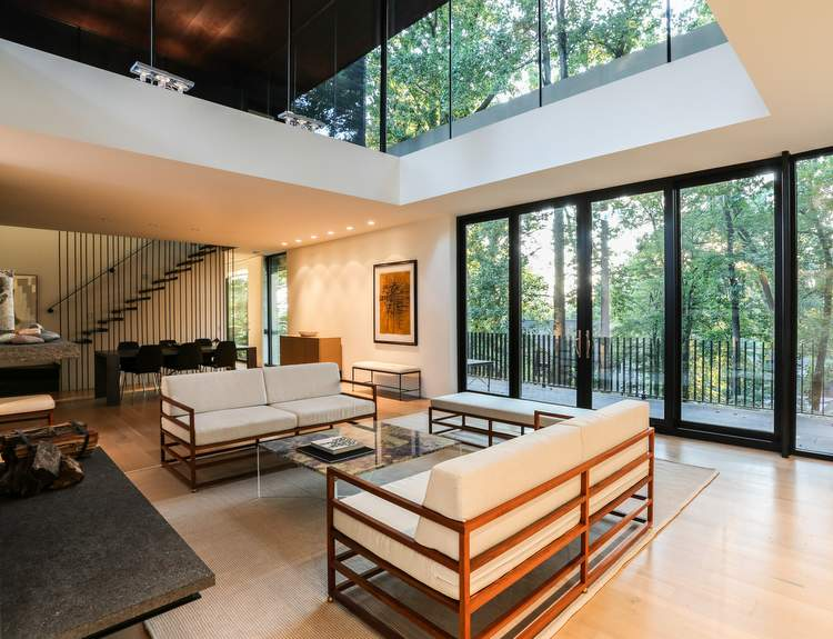 Living-room-as-sun-setting