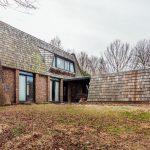 Mid-century modern home in Ashton, Maryland.