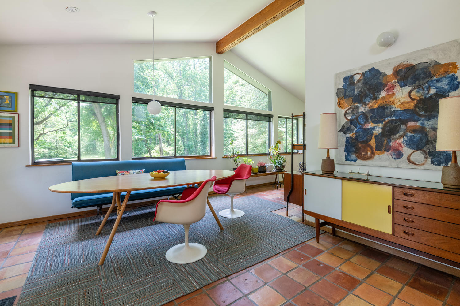 Charles Wagner-designed mid-century modern in Moyaone Reserve.