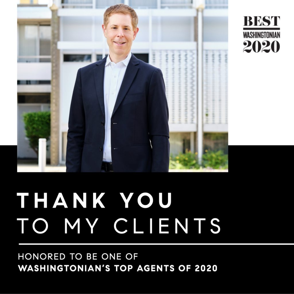 Washingtonian Top Agent