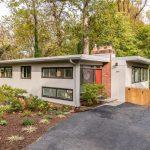 Chloethiel Woodard Smith-designed mid-century modern in Chevy Chase
